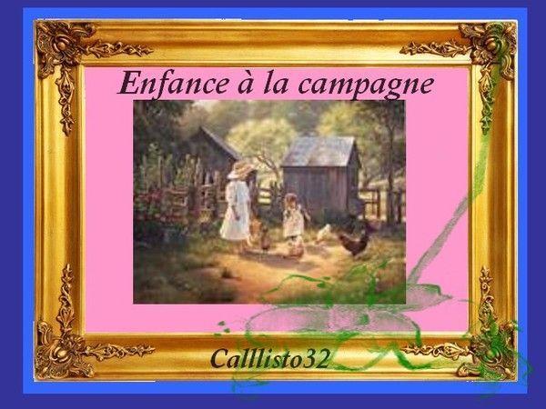 ENFANCE À LA CAMPAGNE