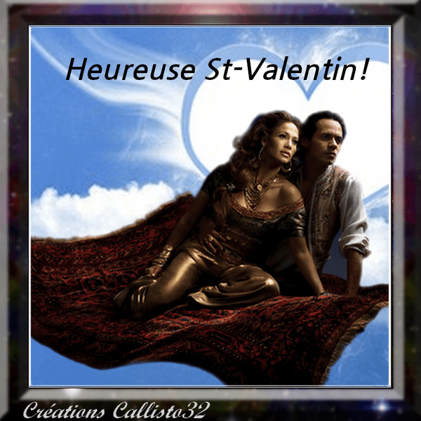 HEUREUSE ST-VALENTIN!