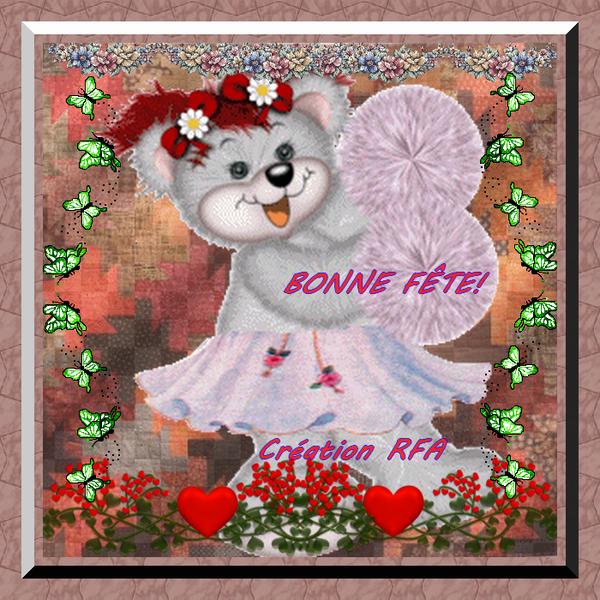 BONNE FÊTE LENA (MARIE)!