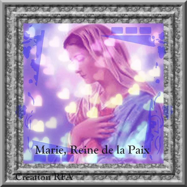 MARIE, REINE DE LA PAIX