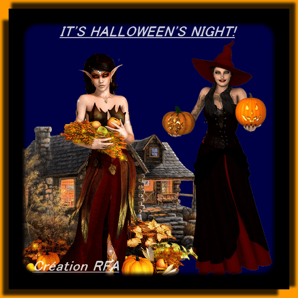 IT'S HALLOWEEN'S NIGHT!