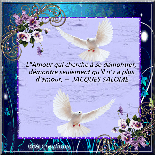CITATION DE JACQUES SALOME