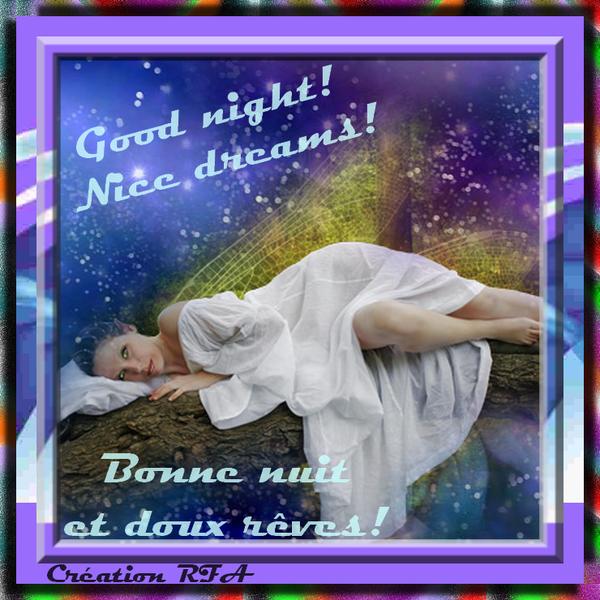 GOOD NIGHT! BONNE NUIT!