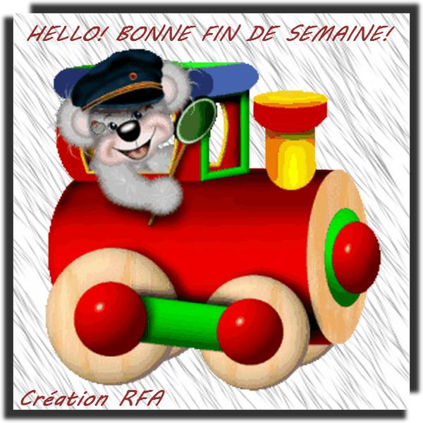 BONNE FIN DE SEMAINE!